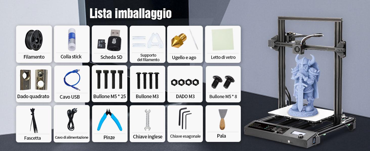 Penna stampante 3d_Kit pulizia ugello stampante 3d_Accessori per stampanti 3d_Strumenti di stampa 3d