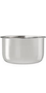 Stainless Steel Inner Pot for Ninja Foodi