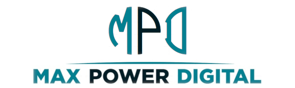 logo max power digital logotipo