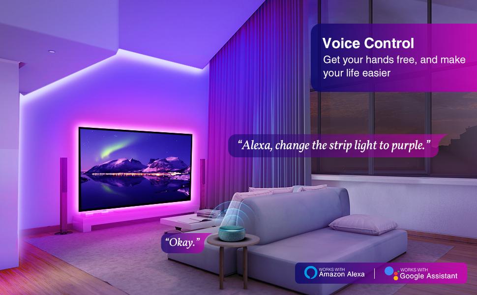 led strip lights for tv