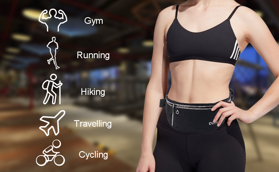 waist pack for running hiking cycling