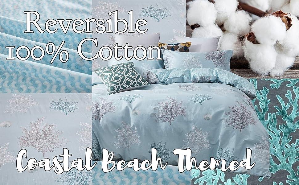 coastal bedding set beach