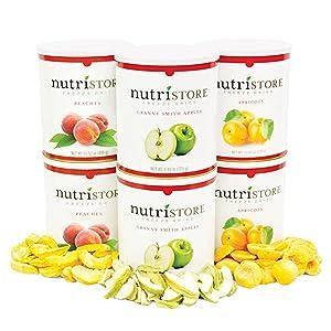 freeze dried fruits apples strawberries shelf stable storage