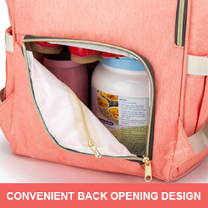 Back Opening of Motherly Diaper Bag