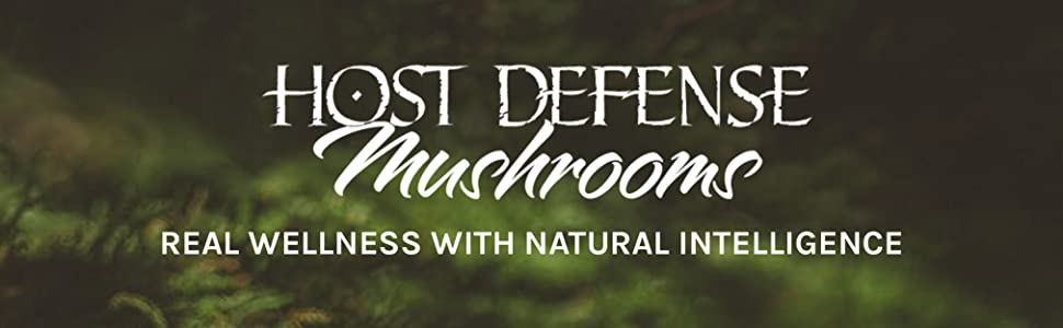 Host Defense Mushrooms, real wellness with natural intelligence