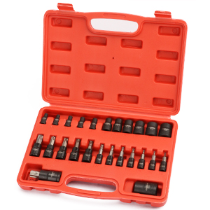 Come with a heavy duty blow molded storage case, easy to carry.