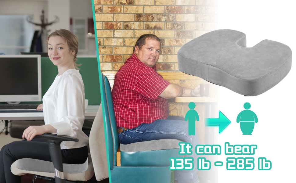 office chair cushion for butt