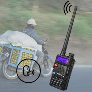 Retevis RT5R Walkie Talkie Professional, Banda Dual Largo Alcance 2 Vías Radio con Cargador de USB, 128 Canales Radio VOX FM Transceptor Portátil de Mano para Almacén, Caza (Negro, 2 Piezas): Amazon.es: Electrónica
