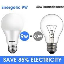led 60 watt light bulbs daylight