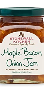 Stonewall Kitchen Maple Bacon Onion Jam Spread Pizza