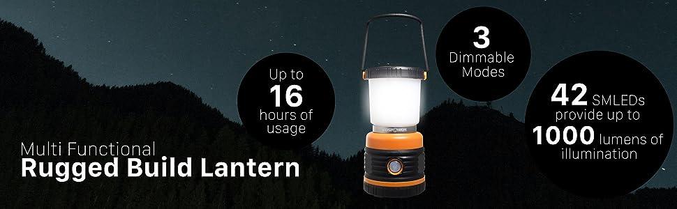 rugged build lantern led