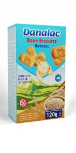 Baby Biscuits Natural