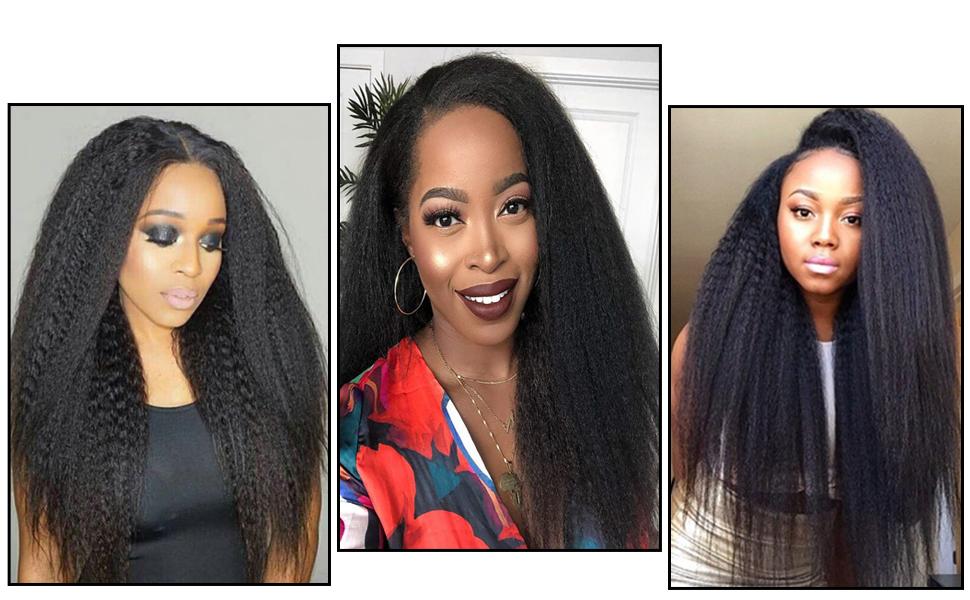 u part wigs for black women