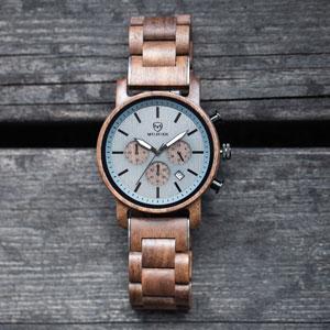 Materiali per orologi in legno.