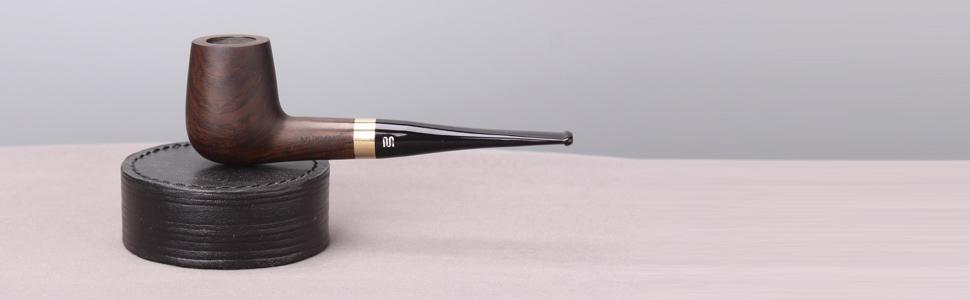 ebony wood pipe
