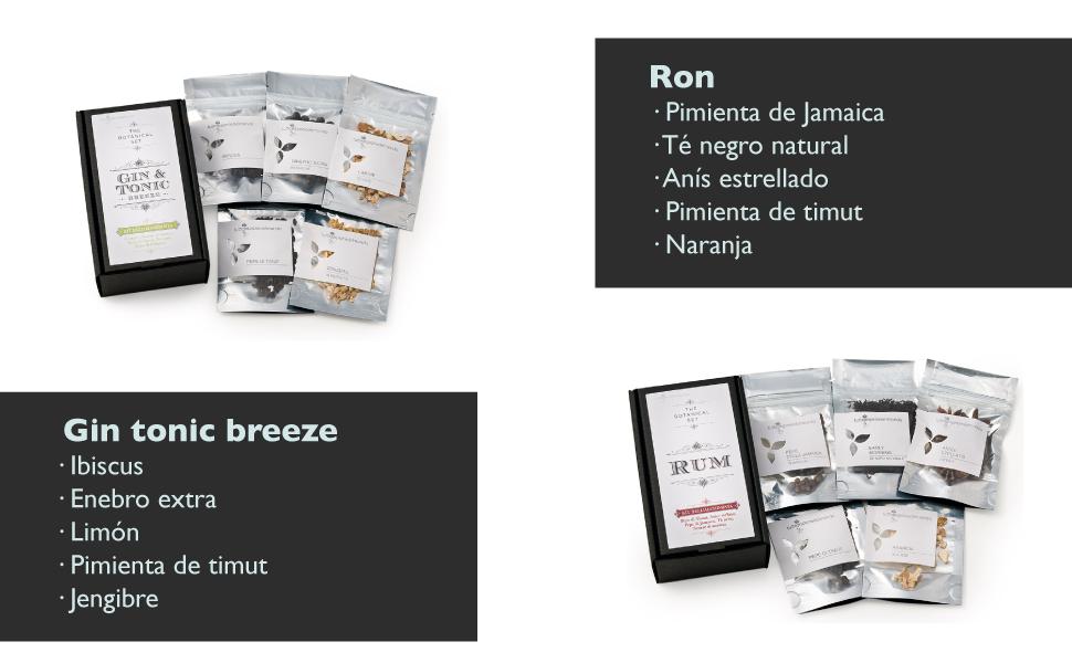 Kit de alquimista - Especias para el BREEZE GIN y ron: Amazon ...