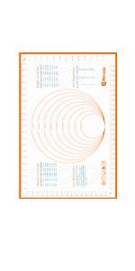 Large Pastry Mat Comparison Chart