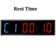 rest timer digital countdown minutes seconds timer