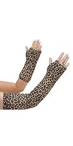 classic cheetah arm cast cover