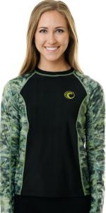 women female short sleeves uv protection sunguard swimsuit boating fishing kayaking wakeboarding