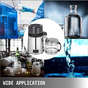 VEVOR Destilador de Agua de Acero Inoxidable 750W Destilación de ...