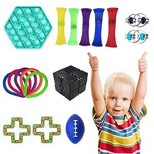 17 fidget toys set pack