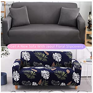 Jaoul beautiful pattern printed sofa couch make your living room more pretty and comfortable