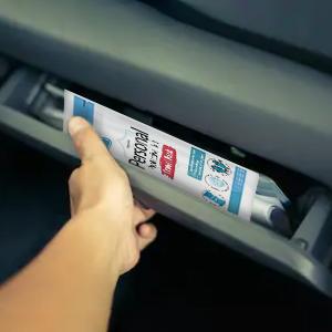 ppe kit in car