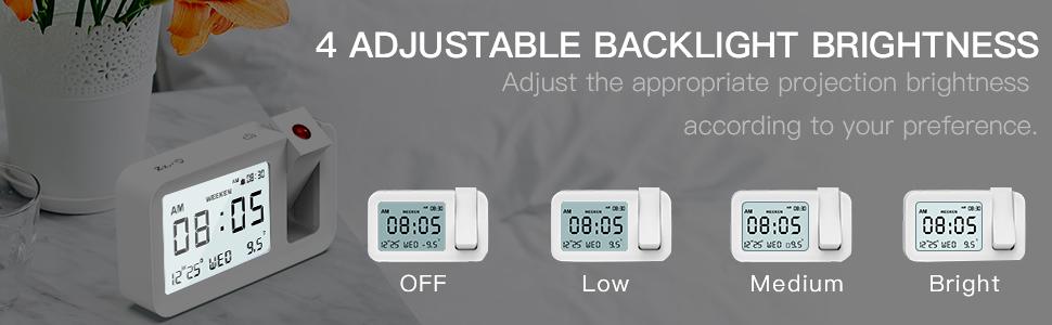 Reloj Despertador Digital