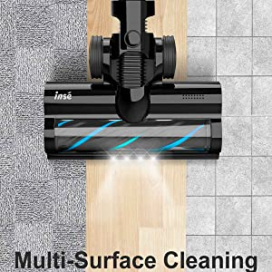 Perfect for Hard Floors & Carpets