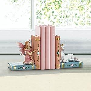 book organizer,bookends,library,book shelf,books,book holder,shelf decor,fairy decor,fairy book