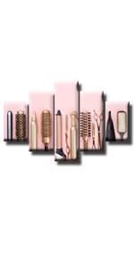 makeup haircut salon beautys salon shower curtain comb barber shop tools accessories cosmetic