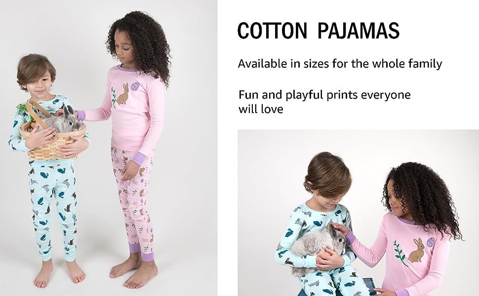 2-14 Y Leveret Bird Girls Matching Doll /& Kid 2 Piece Pajama 100/% Cotton