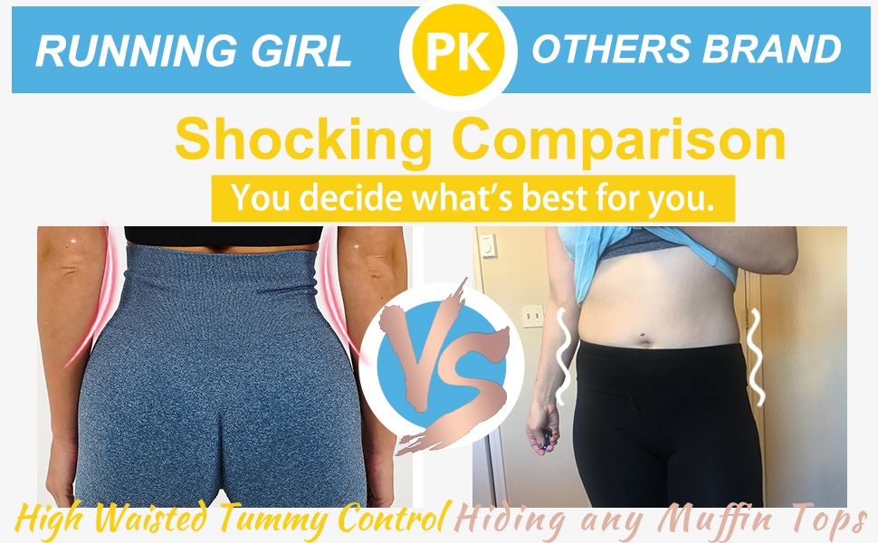 HIGH WAIST TUMMY CONTROL High waist with elastic width provides good tummy control and helps tighten