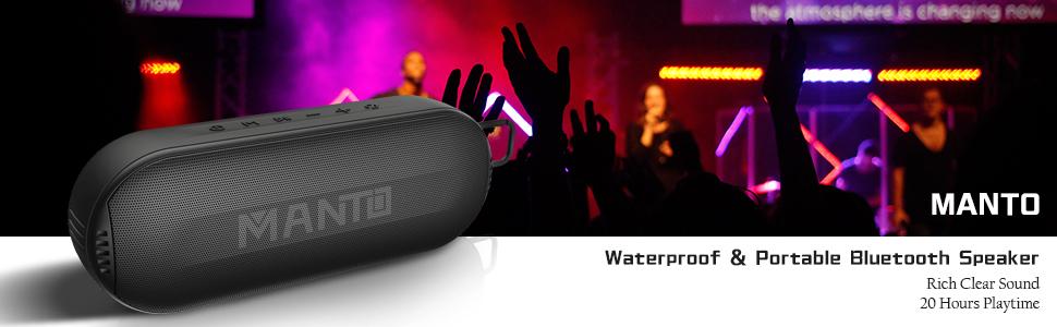 Manto bluetoth speaker
