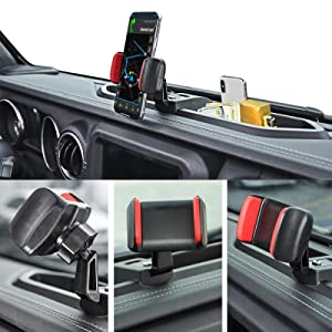 PHONE HOLDER FOR JEEP WRANGLE