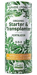 Organic Fertilizer - Starter & Transplanter