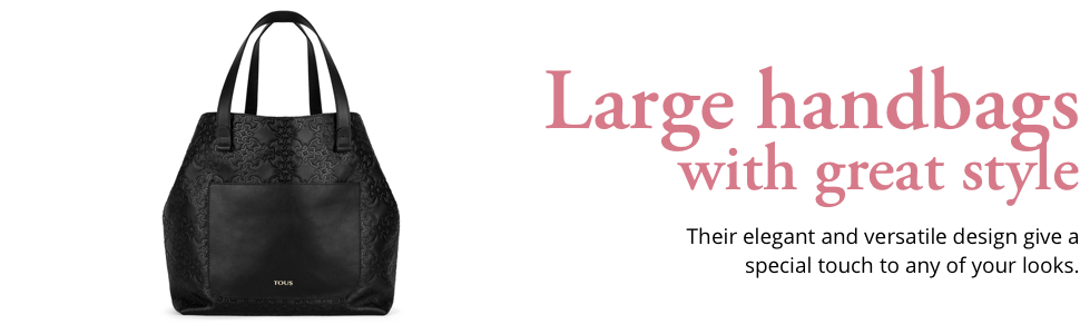 Large handbags with great style