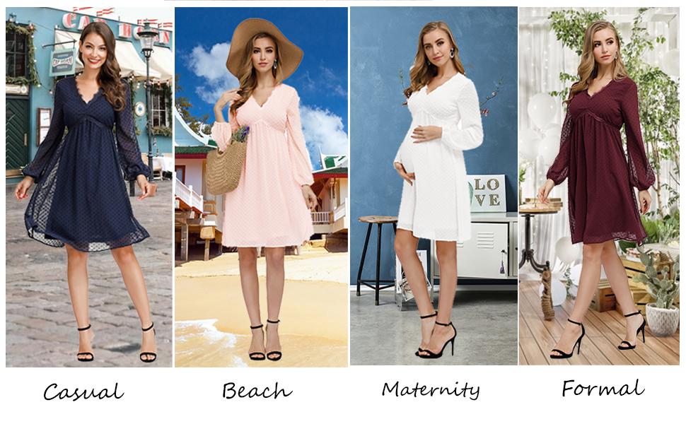 White Dress for Women