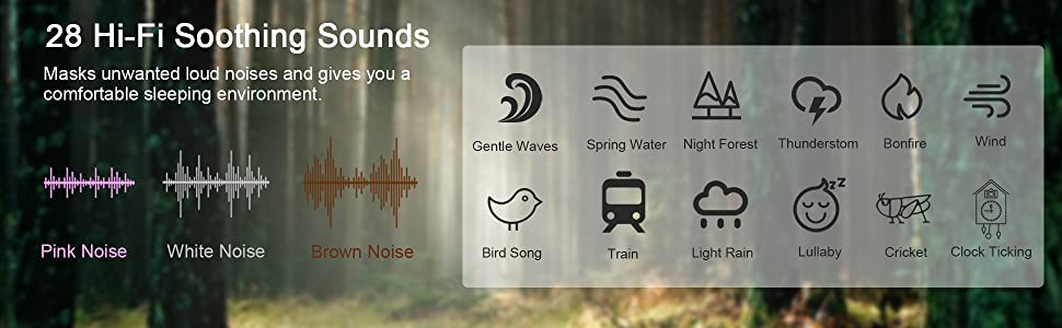 28 Hi-Fi Soothing Sounds