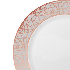 dinnerware set disposable plastic dinner plates