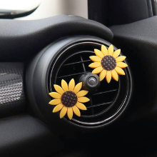 premium sunflower car accessories