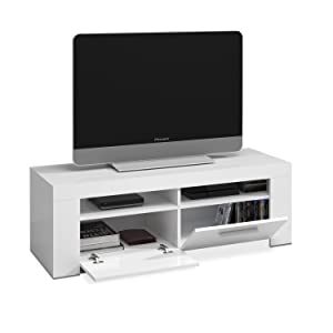 Habitdesign 006621A - Mueble de Comedor Moderno, modulo TV Salon ...
