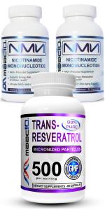 NMN Resveratrol Combo Pack