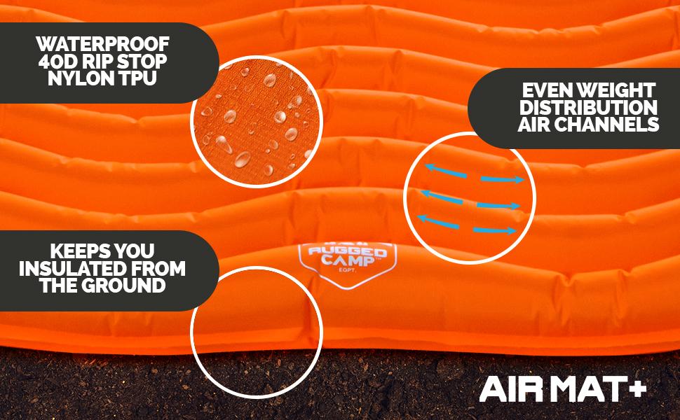 camping air mat sleeping pad