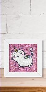 cat diamond painting