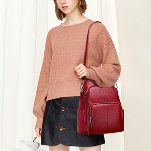 Wind Red Bag for Women