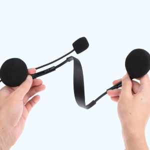 3.5mm telephone headset with microphone, computer headset with mic, wired headphone for skype