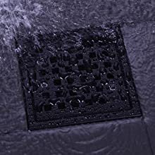 black shower drain