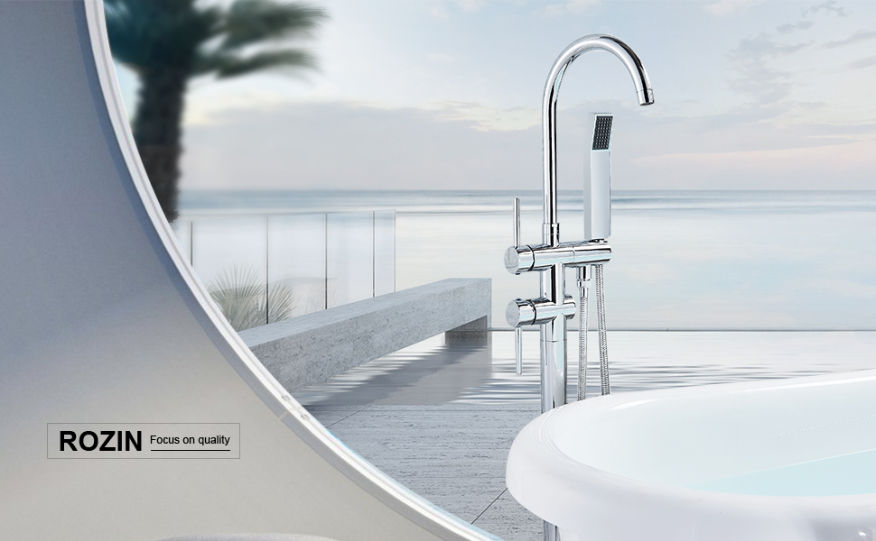 Freestanding Bathtub Shower Tap